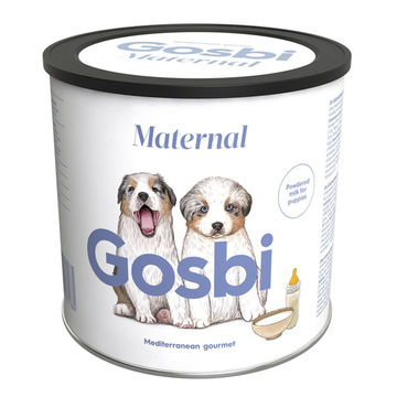 Gosbi Maternal Dog сухая молочная смесь для щенков + бутылочка, 400 г
